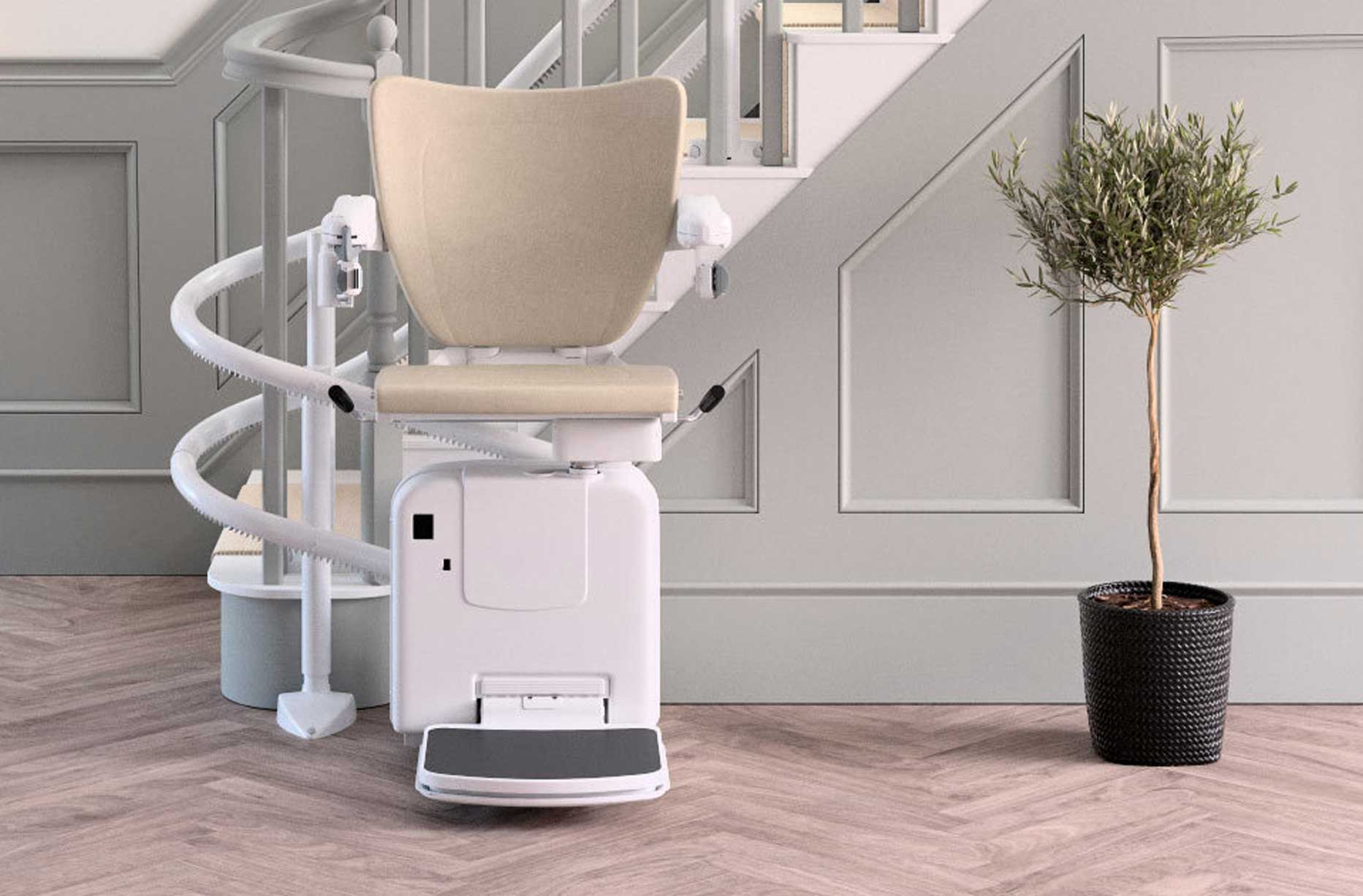 Companion 2000 Curved Stairlift