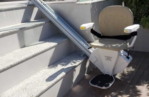 Bespoke-Bespoke Synergy Outdoor Straight Stairlift